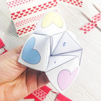 fortune teller for valentine's day
