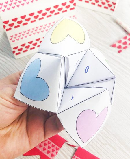 fortune teller for valentine's day