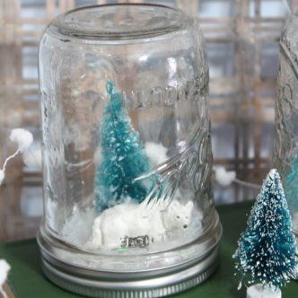 Waterless Snow Globes Kids Craft