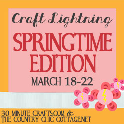 Craft Lightning Spring Edition and Linky Party