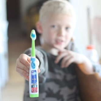 Getting Kids to Brush their Teeth #ToothTunes1D #spon