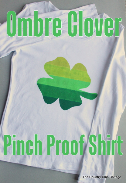 Ombre Clover Pinch Proof Shirt