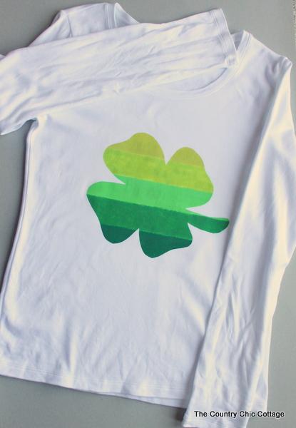 Ombre Clover Pinch Proof Shirt