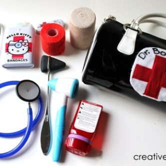 diy play doctor kit