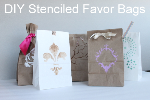 Quick and Easy Favor Bags for Weddings or Parties - The Country ...