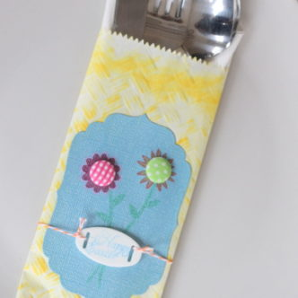 Easter Table Decor — Utensil Pouch for your Easter Celebration