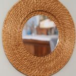 mirror from a plate charger-006