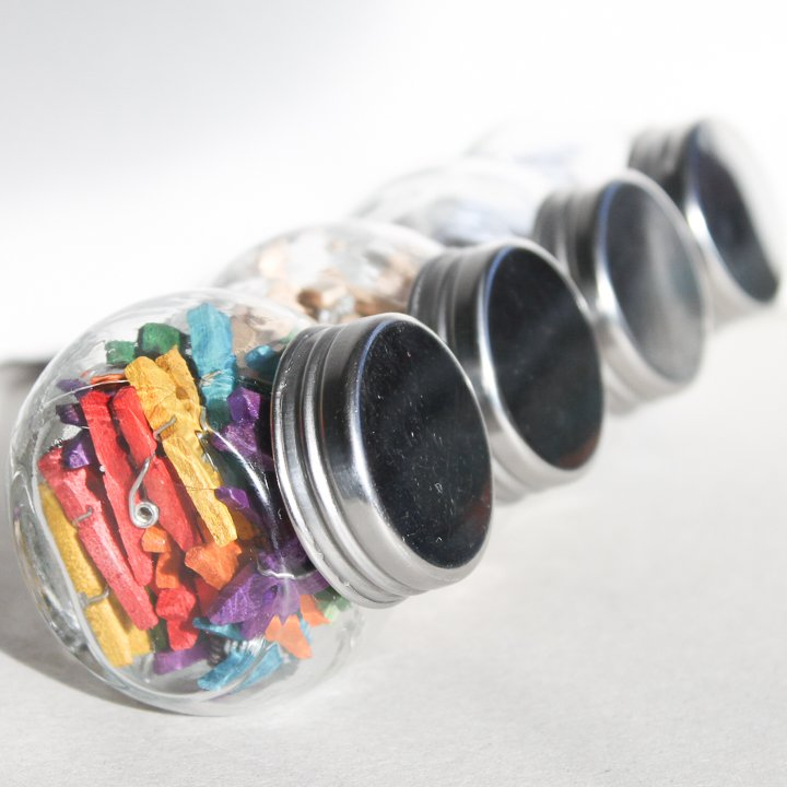 organizing in jars