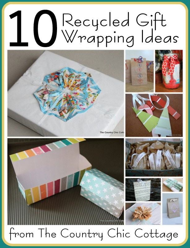 How To Be Green: 10 Recycled Gift Wrapping Ideas