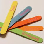 Colorful Chalkboard Herb Markers with DecoArt Clear Chalkboard Coating