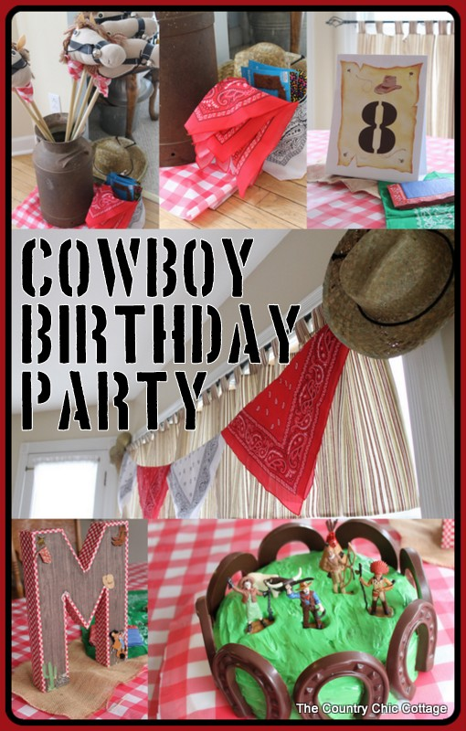 Party Ideas Cowboy Birthday Party Decorations with