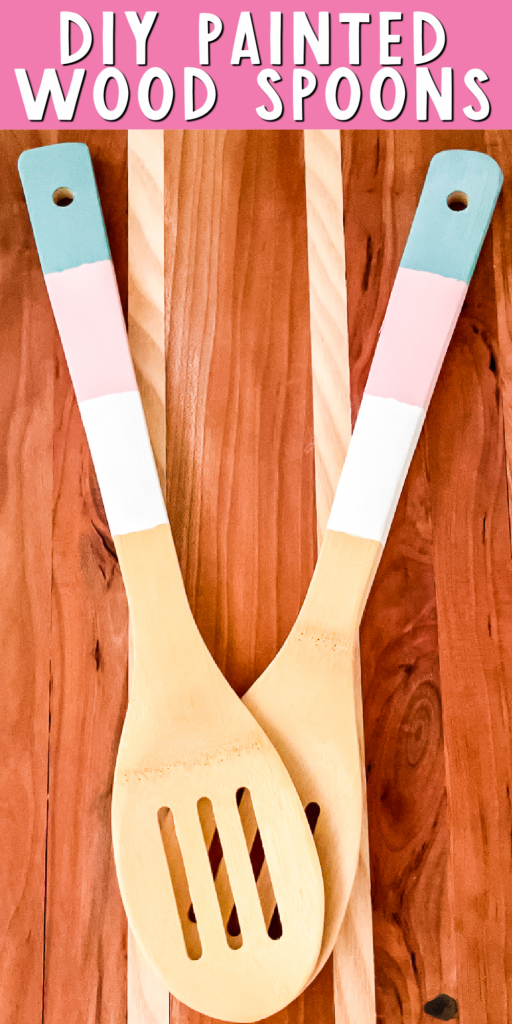 painted wood spoons