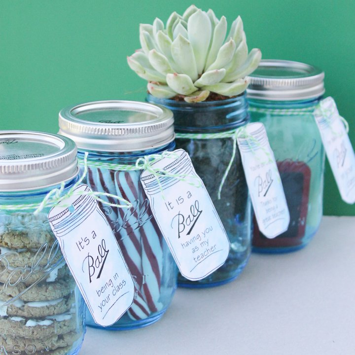 teacher candy jar ideas