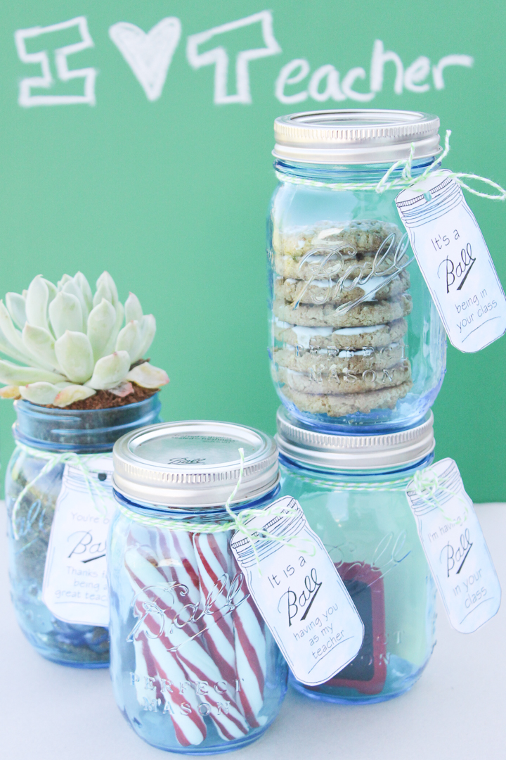diy mason jar gifts for teachers