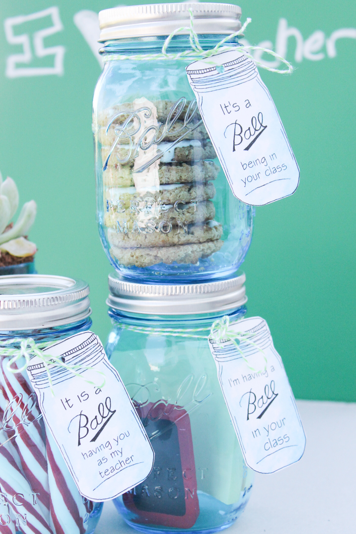 teacher appreciation gifts in a jar