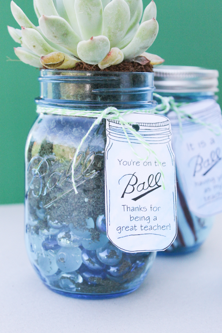 mason jar ideas for teachers