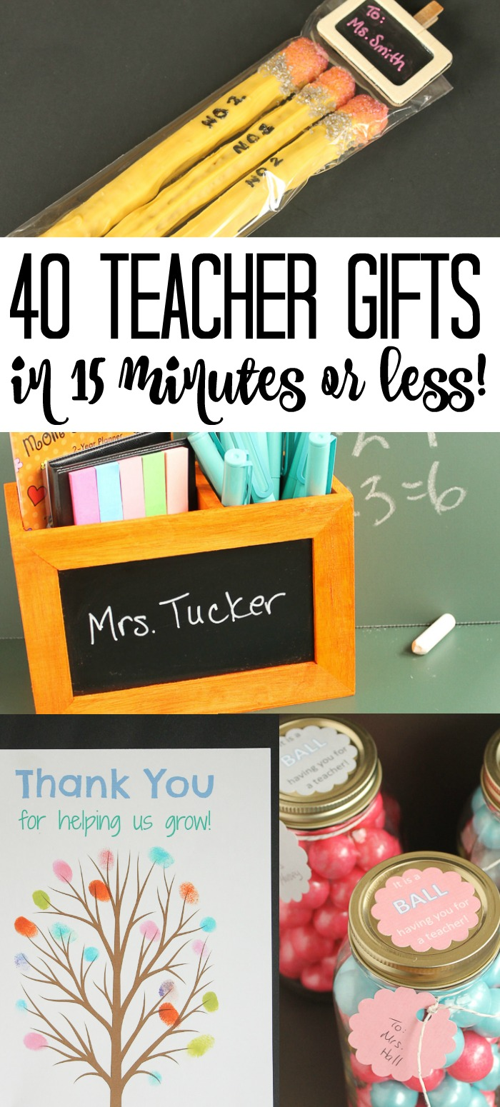 Give these teacher gift ideas a try for Teacher Appreciation day! #teacherappreciation #teachers #gift