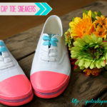 cl4 DIY-Pink-Cap-Toe-Sneakers