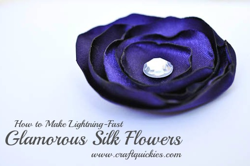 Quick and easy craft craft lightning day 5 features the country ever wanted to make those glamorous silk flowers well craft quickies is here to show you how i had no idea they were so easy to make yourself mightylinksfo