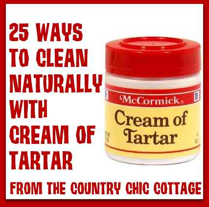 Why clean with harsh chemicals and expensive cleaners? Head on over and see how to clean naturally with products like vinegar, baking soda, lemon, and cream of tartar. Great collection of over 100 tips.
