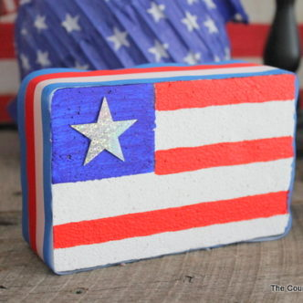 Foam American Flag for Your Patriotic Decor