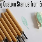 how to make stamps from erasers
