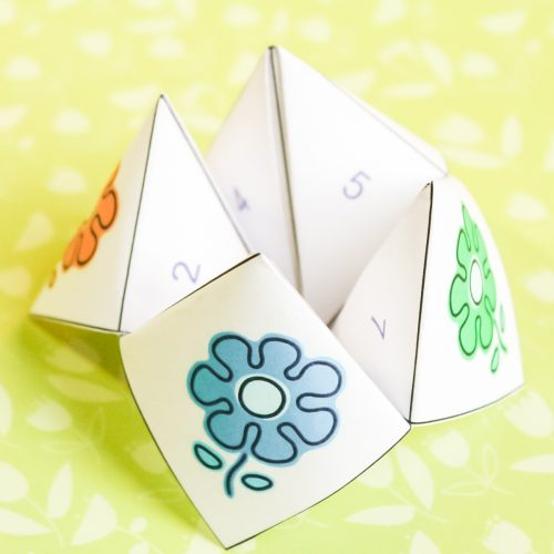 mother's day cootie catcher