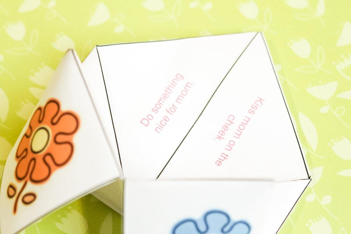 free printable fortune teller