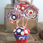 4th of July Decor Centerpiece-015