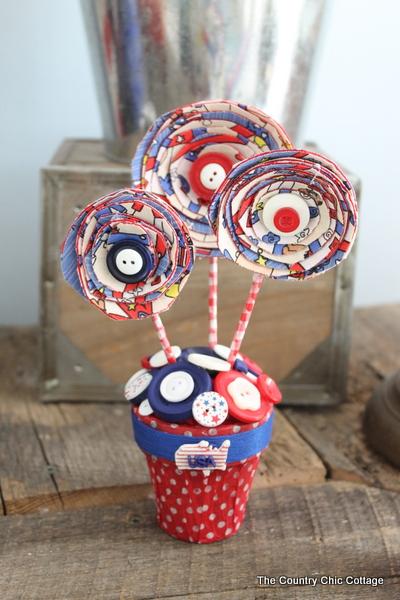 Americana Centerpiece Plus A Patriotic Blog Hop The