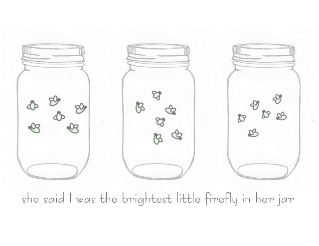 Mason Jar Firefly FREE Printable Art - The Country Chic Cottage