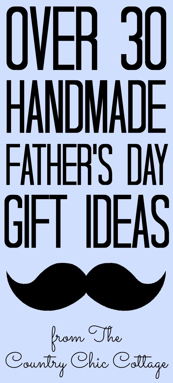 Amazing handmade gifts for Father's Day that dad will love! Give handmade with a gift straight from the heart! #fathersday #dad #giftideas