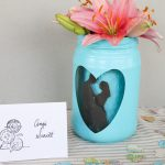 Mason Jar Centerpieces for Weddings with Your Cricut