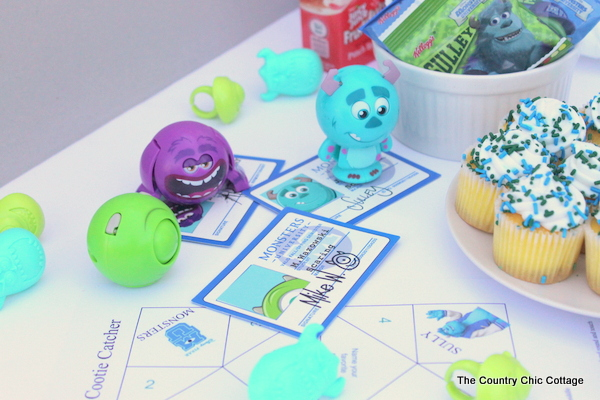 Grab your free printable Monsters University Cootie Catcher here then use it to celebrate when you go watch the new movie in theaters!