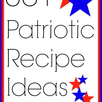 Patriotic Recipe Ideas — over 30 ideas for your 4th of July Party!