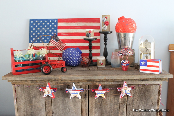 Home Decor My Summer Mantel The Country Chic Cottage