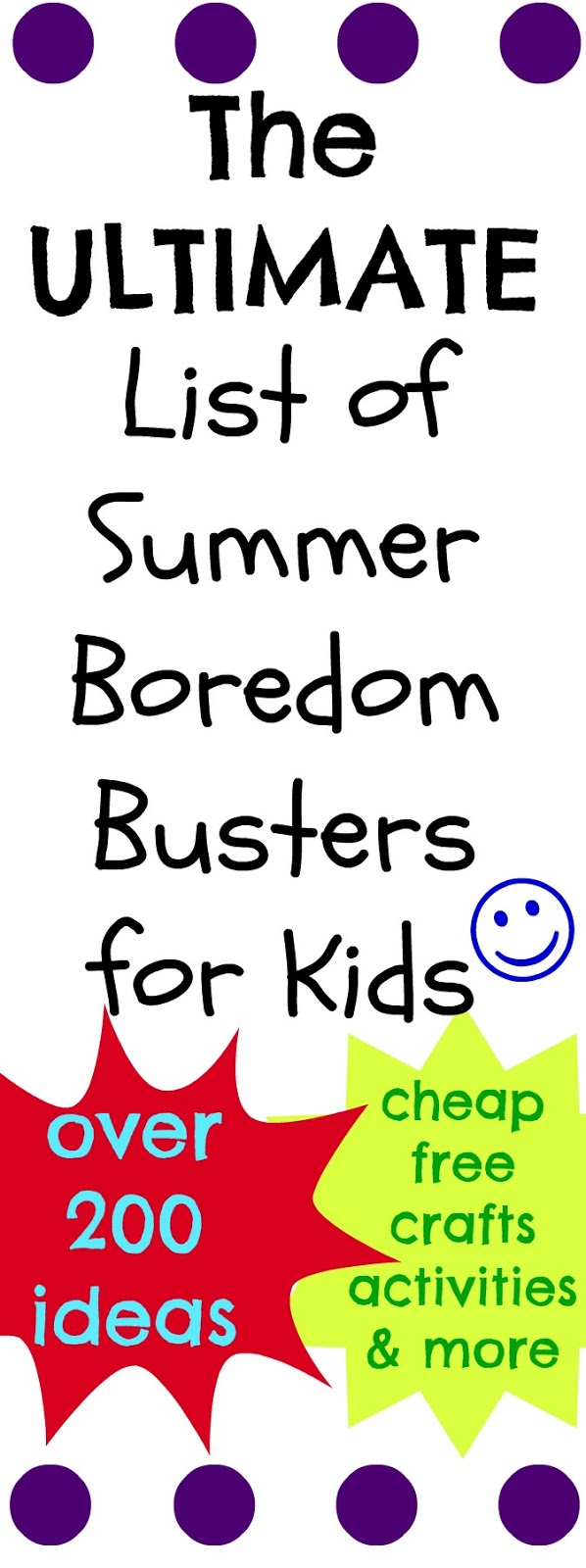 Summer activities for kids the ultimate list of summer boredom