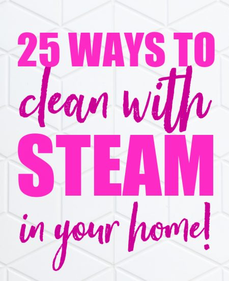 cleaning with steam