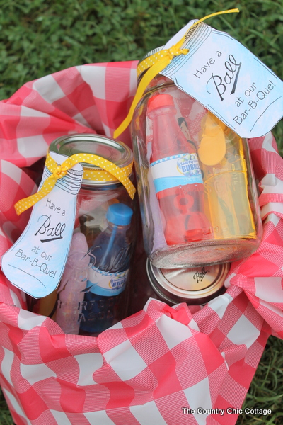 Mason Jar Bbq Party Favors Plus The Ultimate Backyard Bbq