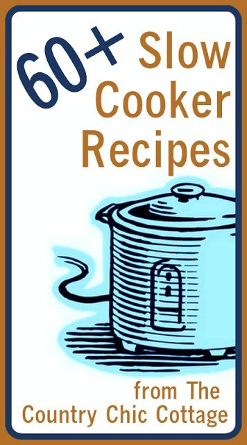 Slow Cooker Recipes -- get over 60 ideas for you crock pot all in one place.