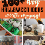 Over 100 DIY Halloween ideas that are totally worth copying! Make these fun Halloween projects and be the talk of the neighborhood this fall! #halloween #diy #halloweenideas #fall