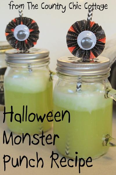 halloween monster punch