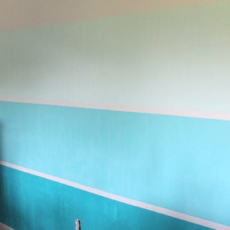 How to Paint a Gradient Color Wall