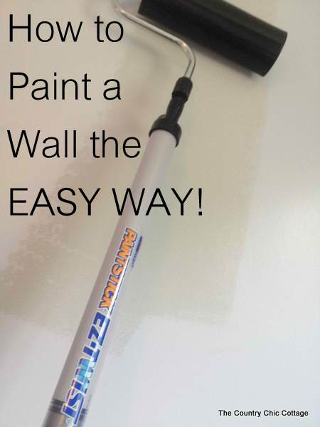 Painting a wall doesn't need to be hard! Here's how to easily paint a gradient ombre wall