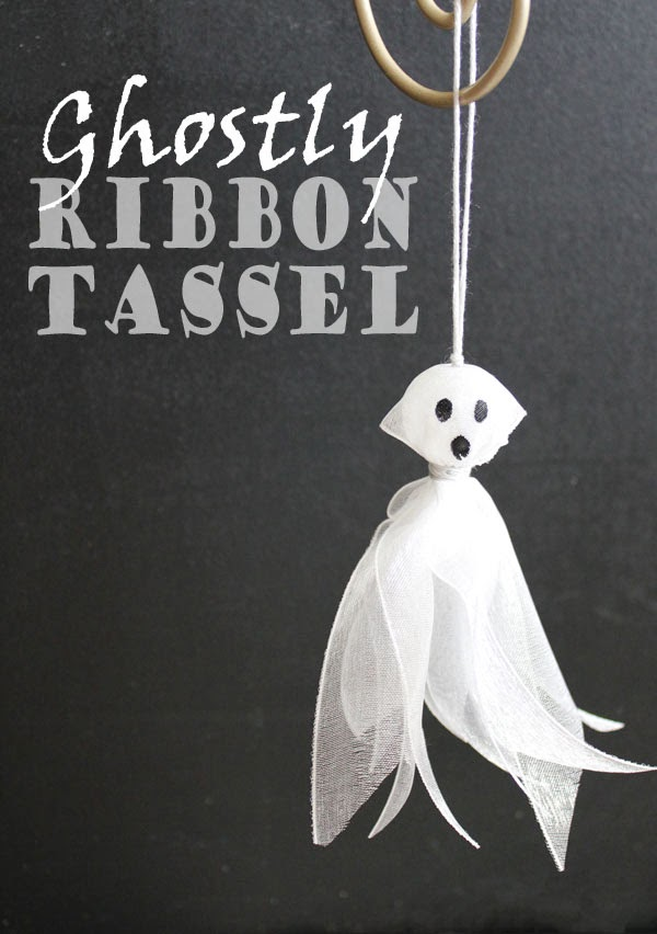 ribbon tassel ghost