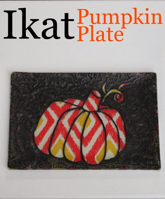 pumpkin plate craft idea