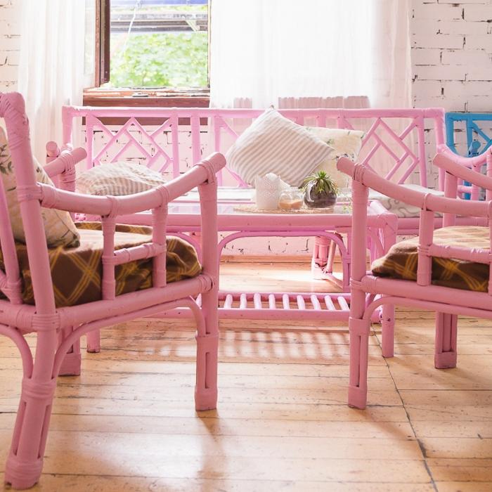 Using wicker furniture indoors