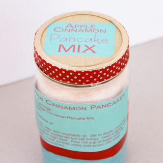 pancake mix gift idea