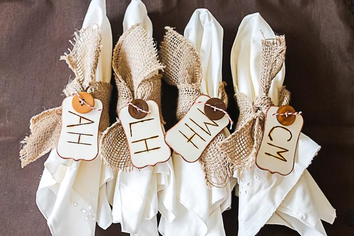farmhouse napkin rings
