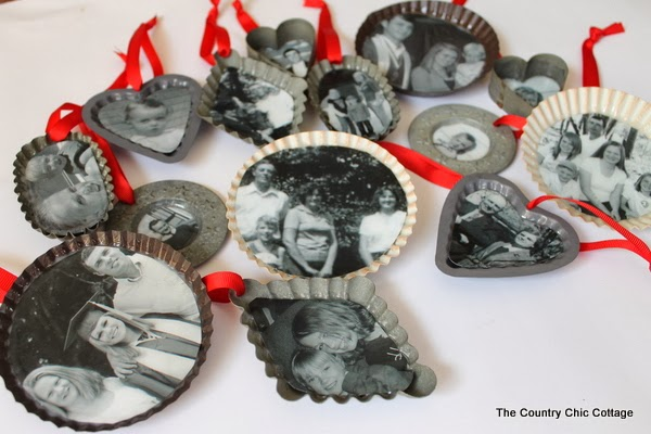 Handmade Gift: Family Tree Ornaments - The Country Chic ... | 600 x 400 jpeg 60kB